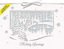 Magnificent Winter Holiday Cards